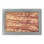 BACON belt buckle oval or rectangle funny CHEF