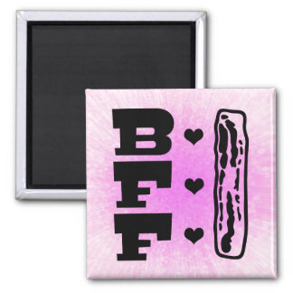 Bacon Best Friends Forever BBFF Magnet
