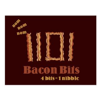 Bacon Bits Postcard