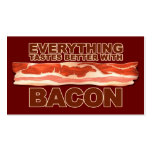 Bacon Bizz Double-Sided Standard Business Cards (Pack Of 100)