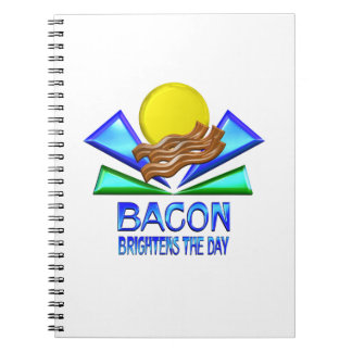 Bacon Brightens the Day Notebook