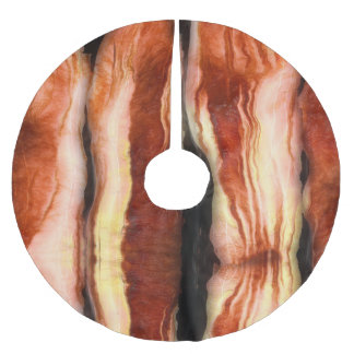 Bacon Brushed Polyester Tree Skirt
