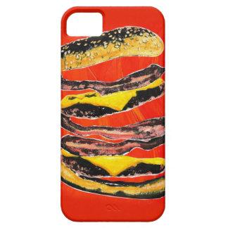 Bacon Burger Graffiti iPhone SE/5/5s Case