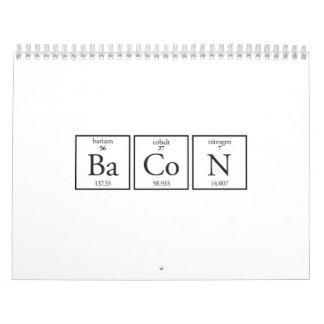 Bacon Calendar