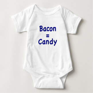 Bacon = Candy Baby Bodysuit