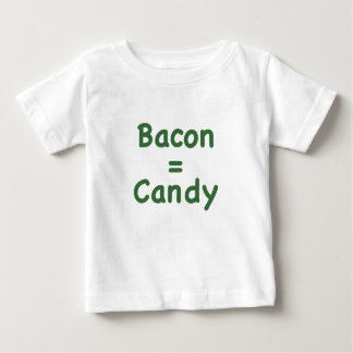 Bacon = Candy Baby T-Shirt