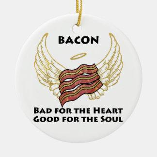 Bacon Ceramic Ornament