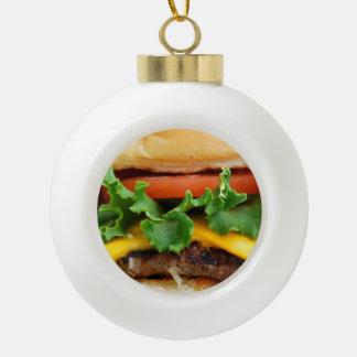 Bacon Cheeseburger Ornaments