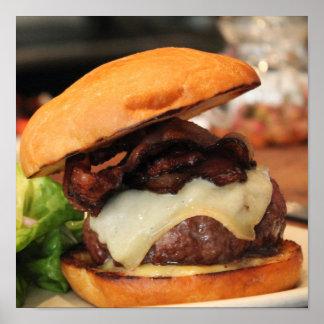 Bacon Cheeseburger poster
