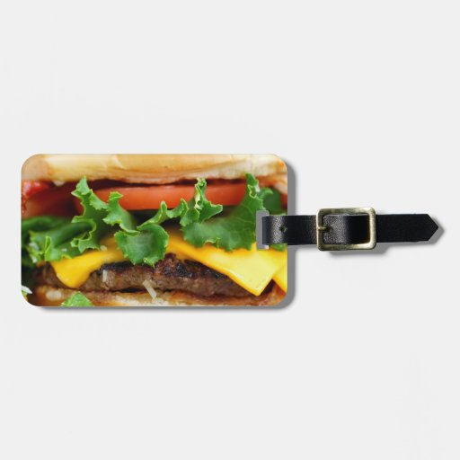 Bacon Cheeseburger Tag For Luggage