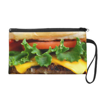 Bacon Cheeseburger Wristlet Purse