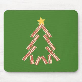 Bacon Christmas Tree Mouse Pad