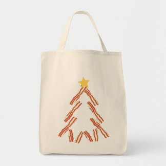 Bacon Christmas Tree Tote Bag