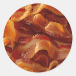 Bacon Classic Round Sticker