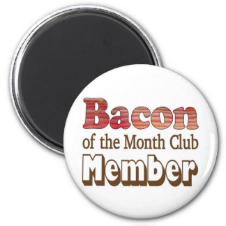 Bacon Club Member Magnet