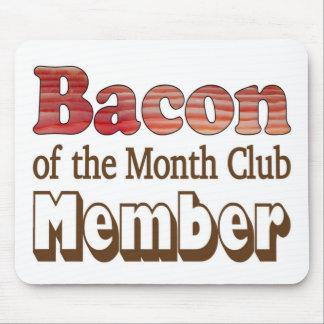 Bacon Club Member Mousepad