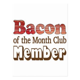 Bacon Club Member Postcard