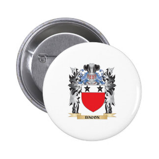 Bacon Coat of Arms - Family Crest 2 Inch Round Button