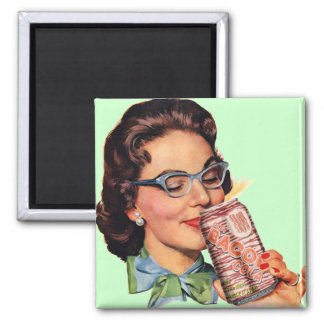 BACON Cola! 2 Inch Square Magnet