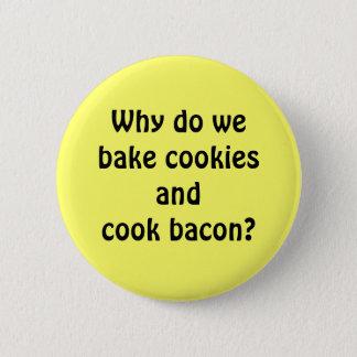 Bacon Cookies Pinback Button