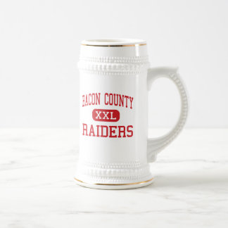 Bacon County - Raiders - Middle - Alma Georgia 18 Oz Beer Stein