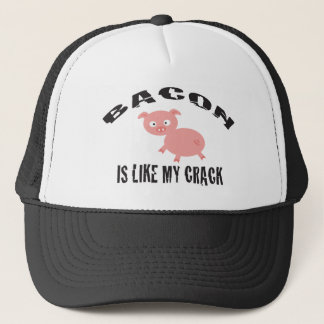 BACON CRACK TRUCKER HAT