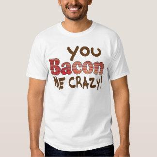 Bacon Crazy Shirt