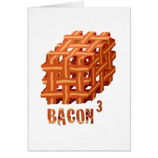 Bacon Cubed Card