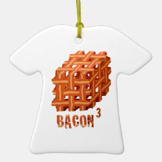 Bacon Cubed Ornaments