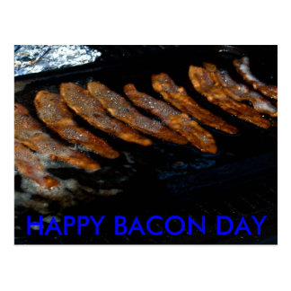 Bacon Day Invitations Post Cards