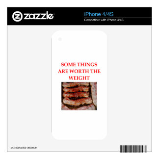 BACON DECAL FOR THE iPhone 4