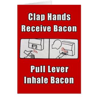 Bacon Dispenser II Card