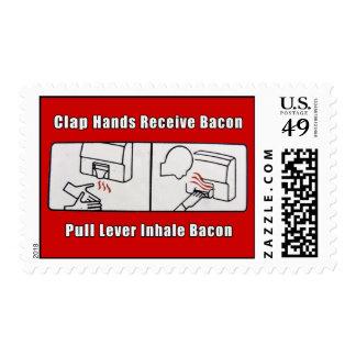 Bacon Dispenser postage stamp