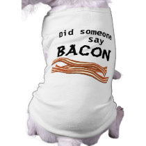 Bacon Dog Shirt