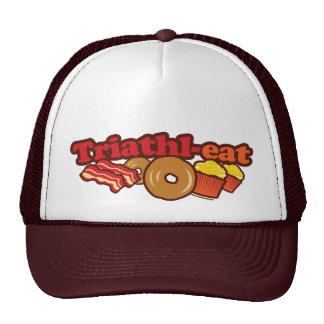 BACON DONUTS CUPCAKES TRUCKER HAT