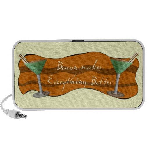 Bacon Doodle Speaker