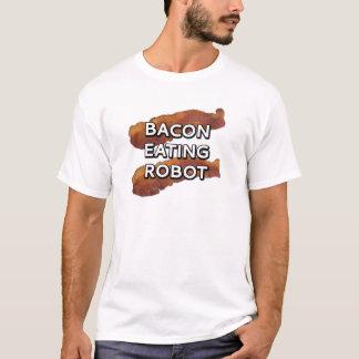 Bacon eating robot T-Shirt