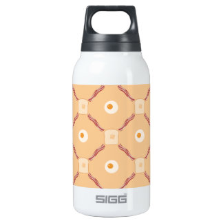 Bacon, Eggs and Toast Insulated Water Bottle