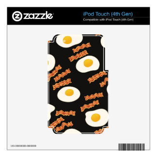 Bacon & Eggs iPod Touch 4G Decals