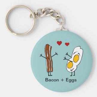 Bacon + Eggs Keychain