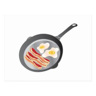 Bacon & Eggs Postcard