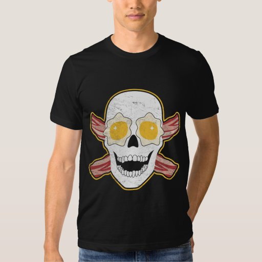 Bacon & Eggs Skull Shirt