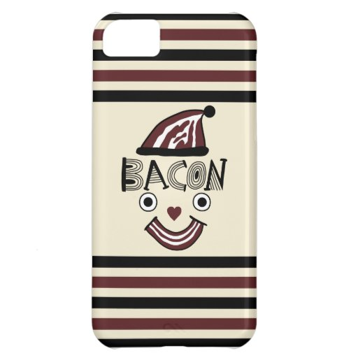Bacon Face iphone 5 iPhone 5C Covers