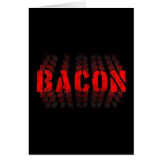 Bacon Fade Card