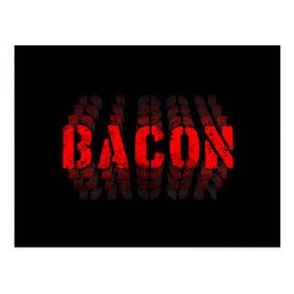 Bacon Fade Postcard