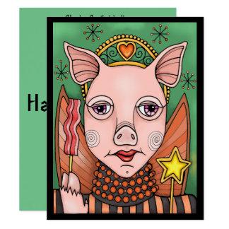 Bacon Fairey Halloween Party Invitation