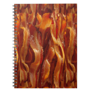 Bacon Fields Forever Decor Spiral Notebook