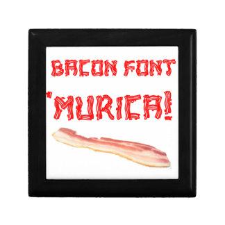 Bacon Font 'Murica! Gift Box