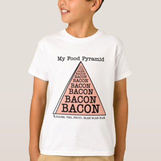 Bacon Food Pyramid T-Shirt
