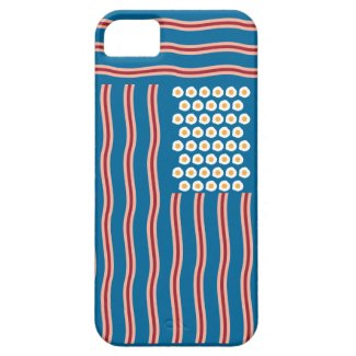 Bacon for the US Funny iPhone 5 Case